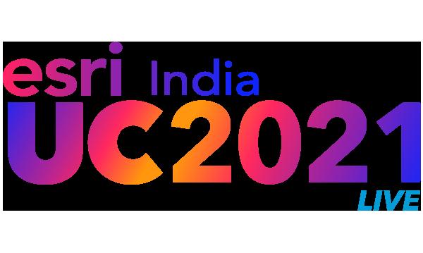 Esri India UC live 2021 logo