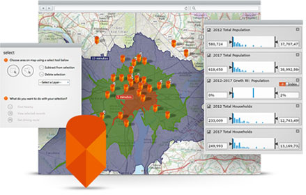 Esri Maps For Location Analytics - Location mapping software