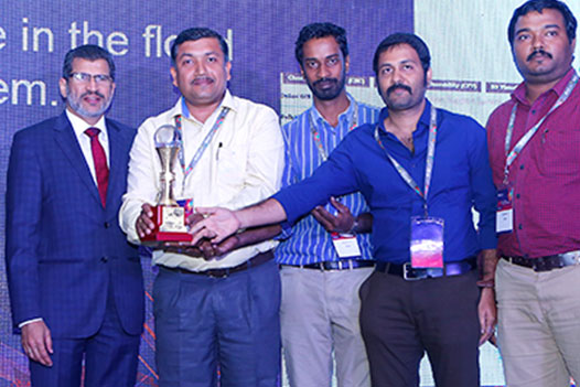 In Pic (L to R): Mr. Agendra Kumar, Dr. Sisir Kumar Dash, Mr. Gopinath G, Mr. Iyyappan M and Mr. Sujith Kumar